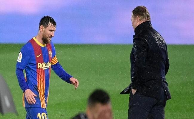 ميسي كان طاغية في تدريبات برشلونة...