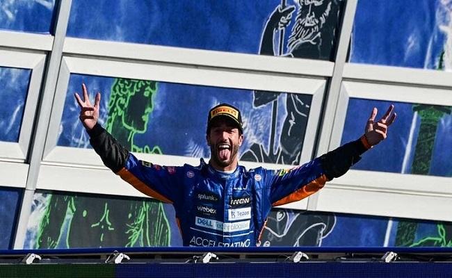 ريكياردو يفوز بسباق إيطاليا...