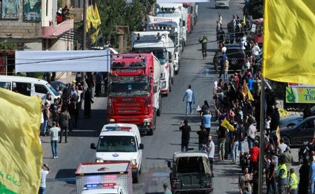 لبنان وصول ثاني باخرة مُحملة بالمازوت الإيراني