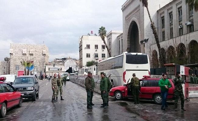 انفجار أمام قصر العدل في طرطوس