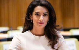 أمل كلوني مستشارة للمحكمة الدولية في قضية الإبادة الجماعية باقليم دارفور بالسودان...