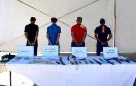 الإطاحة بعصابة إجرامية تحترف تجارة المخدرات و الاعتداء على المواطنين بالطارف