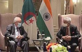 لعمامرة يجري مشاروات مع نظيره الهندي حول التعاون الاقتصادي والتحضير للاستحقاقات الثنائية القادمة