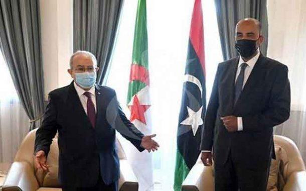 محادثات بين لعمامرة و نائب رئيس المجلس الرئاسي الليبي