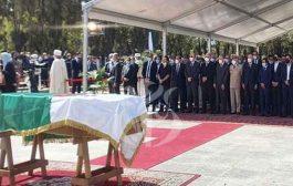 تشييع جثمان الرئيس السابق بوتفليقة بمقبرة العالية