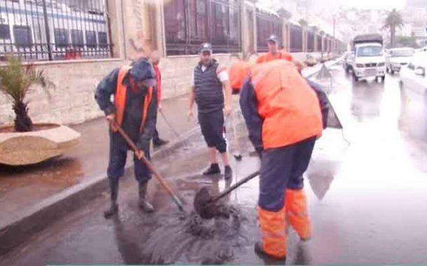 تدخل الحماية المدنية بعدة ولايات إثر التساقط الغزير للأمطار