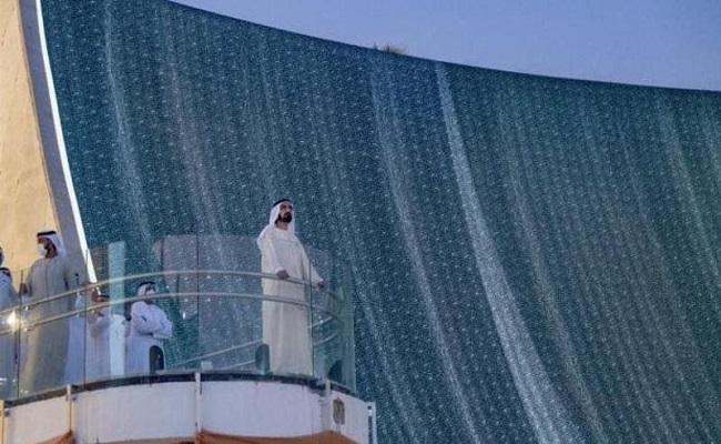 شلالات إكسبو 2020 دبي تتحدى الجاذبية...