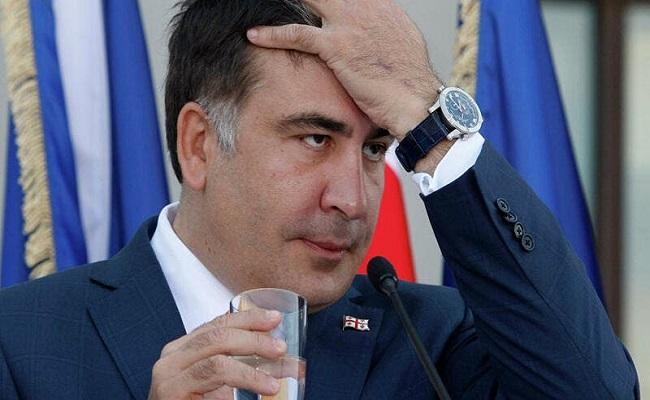 اعتقال الرئيس الجورجي السابق
