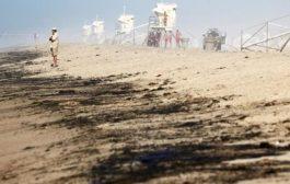 3 آلاف برميل نفط تتسرب إلى سواحل كاليفورنيا