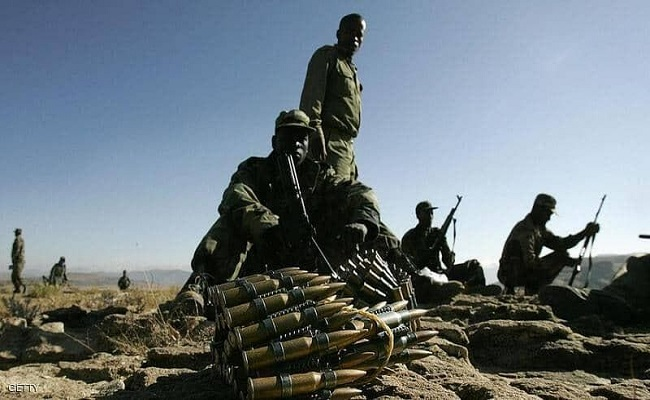 الجيش إثيوبي يقصف مواقع متمردي تيغراي