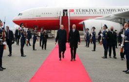 أردوغان وعلييف يفتتحان مطار فيزولي