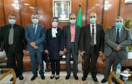 استقبال بن بوزيد لسفيرة تركيا و يتباحث معها سبل تعزيز التعاون الثنائي في مجال الصحة