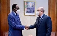 استقبال بن عبد الرحمان لوزير الداخلية واللامركزية لجمهورية النيجر