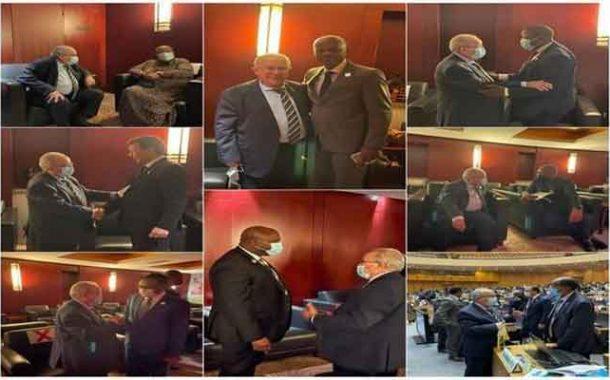 لعمامرة يعقد لقاءات مع عدد من نظرائه الأفارقة بأديس أبابا