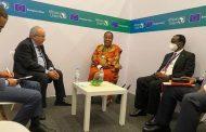 لعمامرة يعقد جلسات عمل مع نظيريه الجنوب إفريقي و الأنغولي بكيغالي