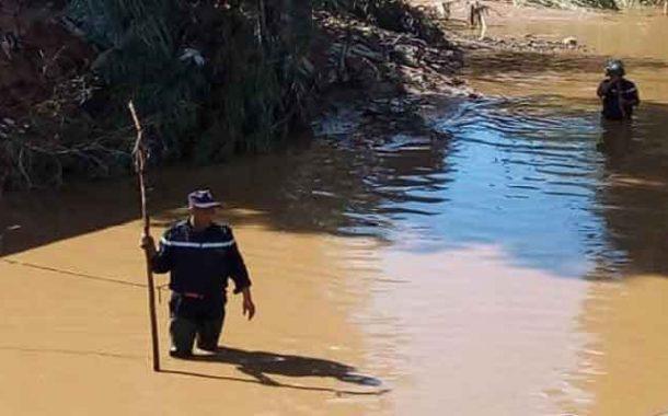 الحماية المدنية تواصل  البحث عن مفقود ثالث جرفته سيول الأمطار بالعاصمة